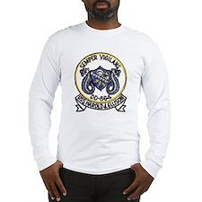 uss harold j. ellison patch tr Long Sleeve T-Shirt