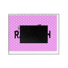 Rad tech necklace pink Picture Frame
