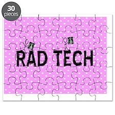 Rad tech necklace pink Puzzle