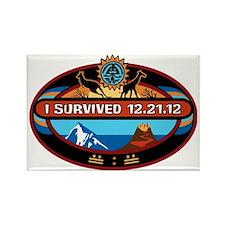 I Survived 12.21.12! Rectangle Magnet