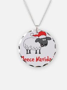 Fleece Navidad Necklace
