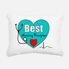 Best Nursing Preceptor b Rectangular Canvas Pillow