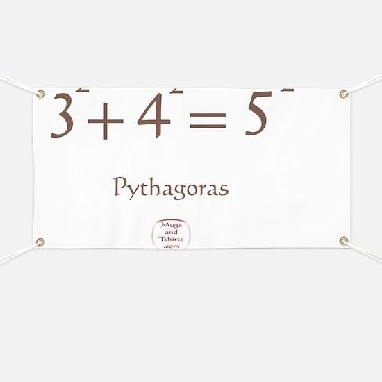 PYTHAGORAS EQUATION Banner