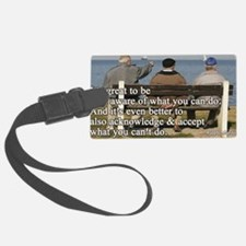 You can do Luggage Tag