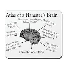 Atlas of a Hamster brain Mousepad