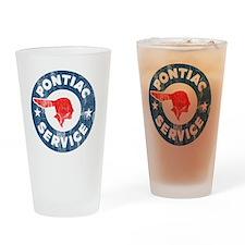 Pontiac Service Drinking Glass