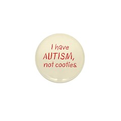 Not Cooties Mini Button (100 pack)
