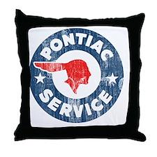 Pontiac Service Throw Pillow
