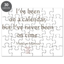 IVE NEVER BEEN ON TIME Puzzle
