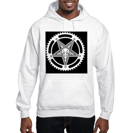 Speed Metal Cycling Pentagram Ch Hooded Sweatshirt