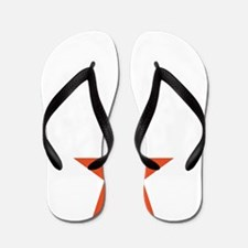 rock star e-guitar player, drummer bass Flip Flops