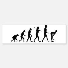 Twerking Evolution Twerk Bumper Bumper Bumper Sticker
