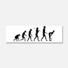 Twerking Evolution Twerk Car Magnet 10 X 3