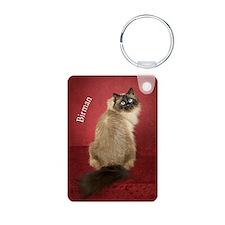 Birman Cat Keepsake Christ Keychains