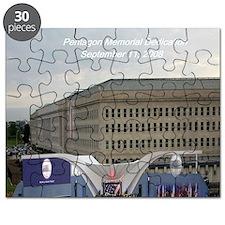 Pentagon Memorial Dedication Puzzle