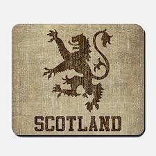 Vintage Scotland Mousepad
