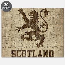 Vintage Scotland Puzzle