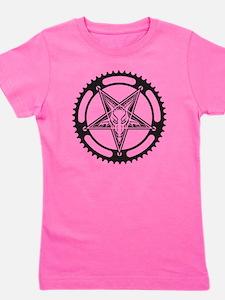 Pentagram Chainring Girl's Tee