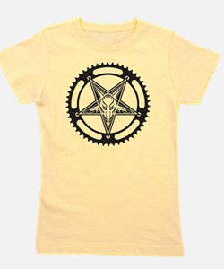 Pentagram Chainring Girl's Tee