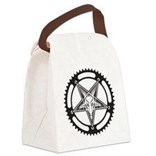 Pentagram Chainring Canvas Lunch Bag