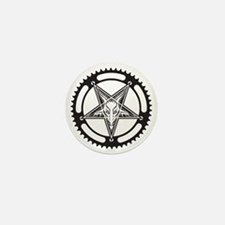 Pentagram Chainring Mini Button
