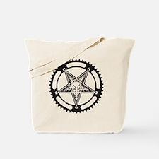 Pentagram Chainring Tote Bag