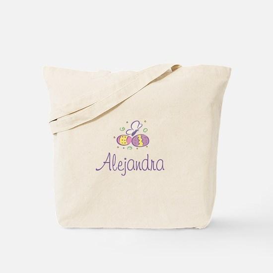 Easter Eggs - Alejandra Tote Bag