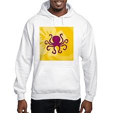 Octopus Square Car Magnet 3 x 3 Hoodie