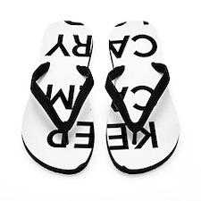 Keep Calm and Carry Florida Flip Flops