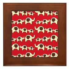 Elephant Parade Framed Tile