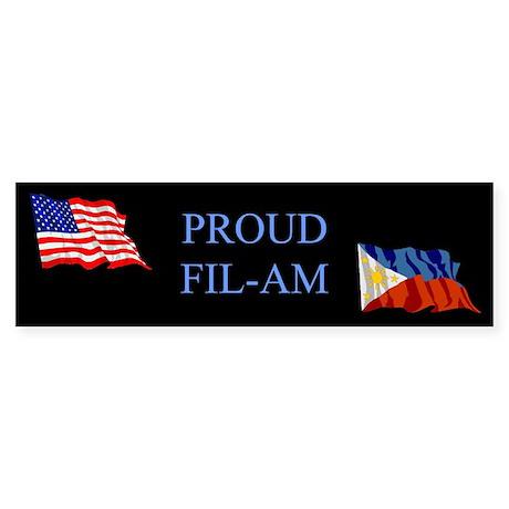 Proud Filipino #2 Gifts Bumper Sticker