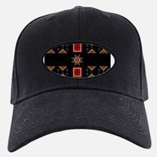 Crimson Red Butterflies Baseball Hat