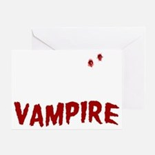My Husband is a Vampire Greeting Card