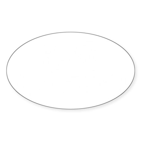 HARE KRISHNA Sticker (Oval)