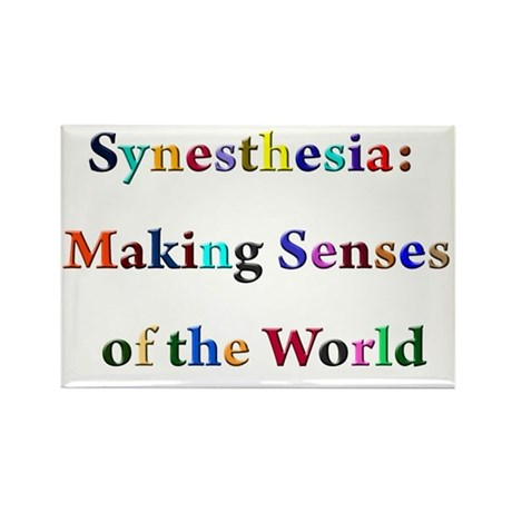 Synesthesia Rectangle Magnet