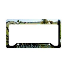 Canon on Battlefield, Gettysb License Plate Holder