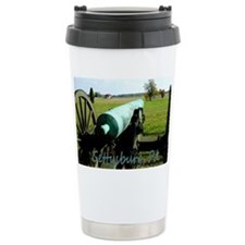 Canon on Battlefield, Gettysbur Travel Mug