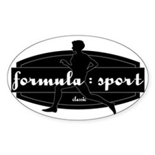 The Original Classic Run Logo Decal
