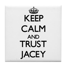 Keep Calm and trust Jacey Tile Coaster