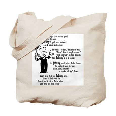 dead johnny Tote Bag