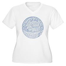 Wedgewood Blue Ba T-Shirt