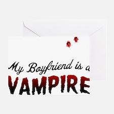 My Boyfriend is a Vampire! Greeting Card