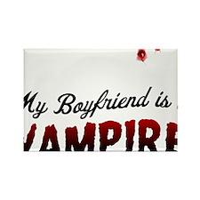 My Boyfriend is a Vampire! Rectangle Magnet