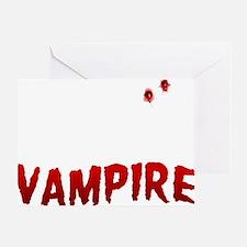 My Boyfriend is a Vampire Greeting Card