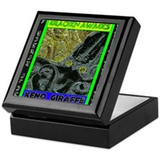 Kracken Awakes Green Keepsake Box