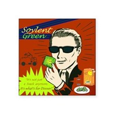 "Soylent Green Square Sticker 3"" x 3"""