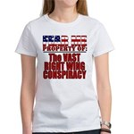 Property of Vast Right Wing Conspiracy Women's T-S