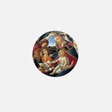 Magnifat Madonna - Botticelli Mini Button