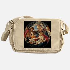 Magnifat Madonna - Botticelli Messenger Bag