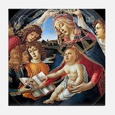 Magnifat Madonna - Botticelli Tile Coaster